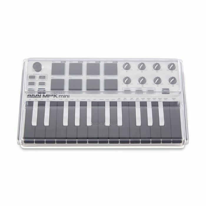 decksaver decksaver le akai mpk mini mk2 keyboard controller cover smoked clear light edition. Black Bedroom Furniture Sets. Home Design Ideas