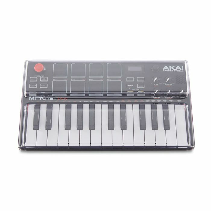 DECKSAVER - Decksaver LE Akai MPK Mini Play Keyboard Controller Cover (smoked clear, light edition)