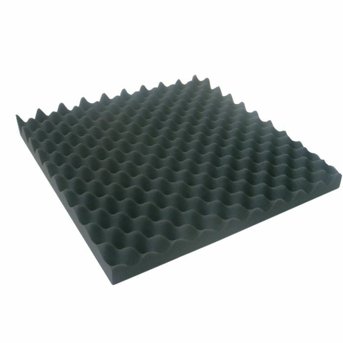 NEW JERSEY SOUND - New Jersey Sound Square Style Acoustic Foam Tile (black)