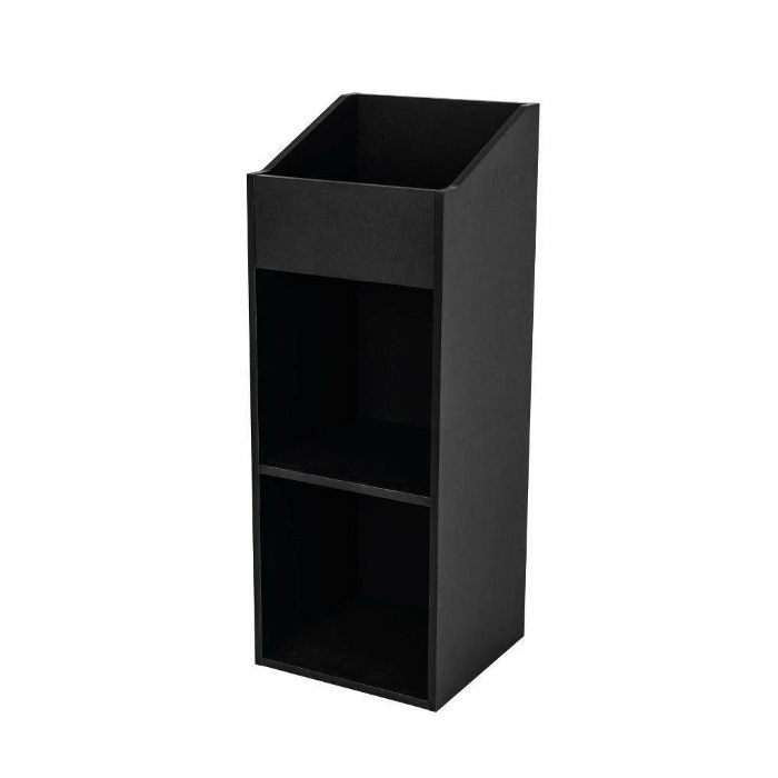 GLORIOUS - Glorious 12 Inch LP Vinyl Record Storage Rack 330 (black)