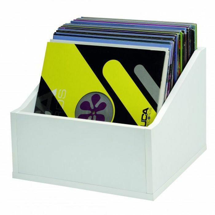 GLORIOUS - Glorious 12 Inch LP Vinyl Record Storage Box Advanced 110 (white)