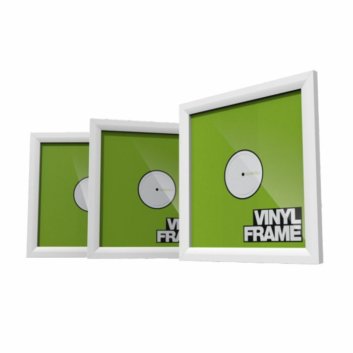 GLORIOUS - Glorious 12 Inch LP Vinyl Record Frame Holder (white, pack of 3)