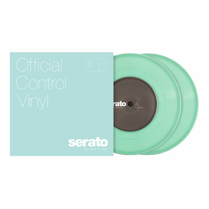 SERATO - Serato Standard Colours 7 Inch Control Vinyl (glow in the dark, pair)
