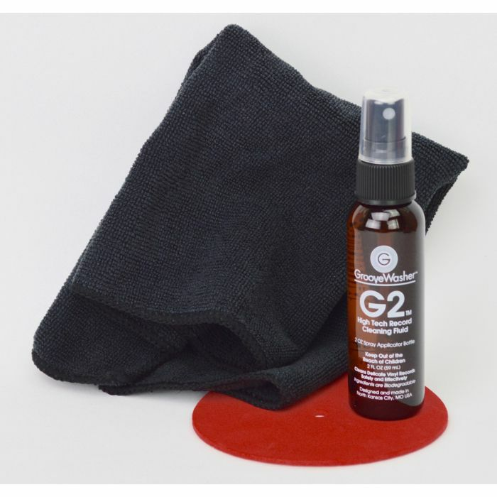 GROOVEWASHER - GrooveWasher Commando Record Cleaning Kit