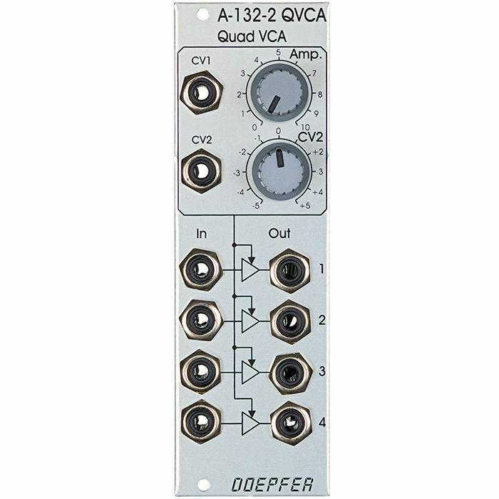 DOEPFER - Doepfer A-132-2 Quad VCA Module