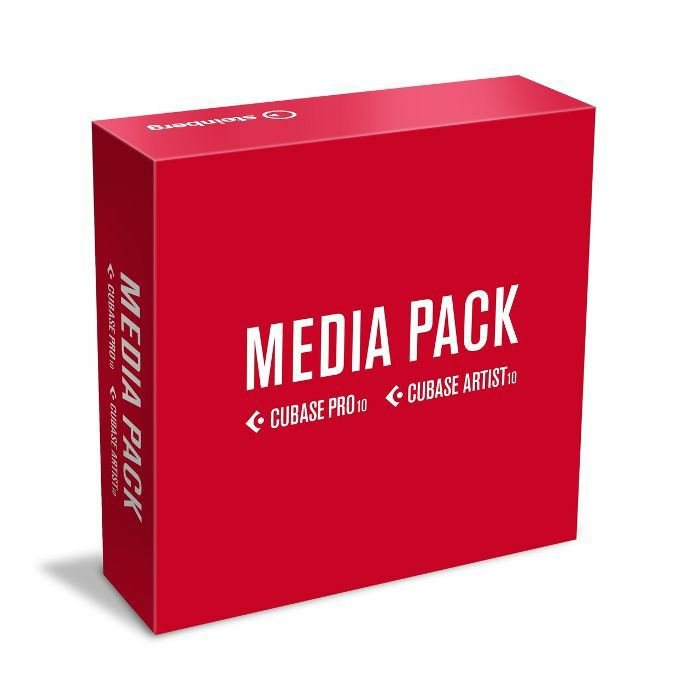 STEINBERG - Steinberg Cubase Pro/Artist 10 Media Pack (includes USB drive but not license code)