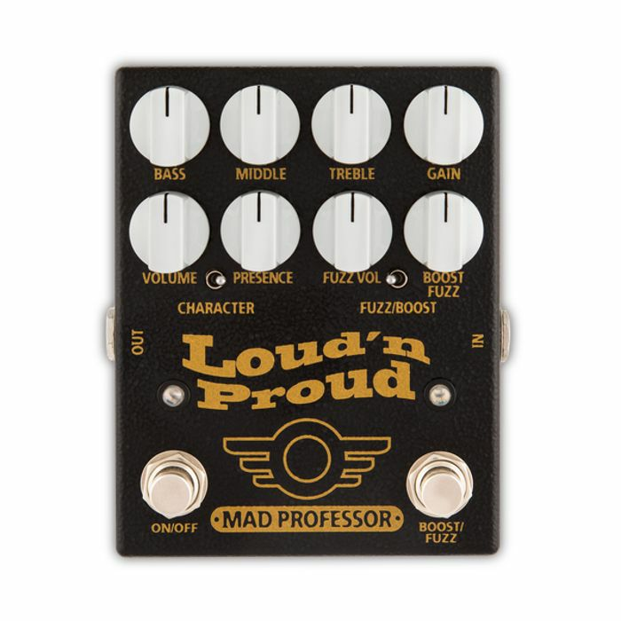 MAD PROFESSOR - Mad Professor Loud'n'Proud Overdrive Pedal