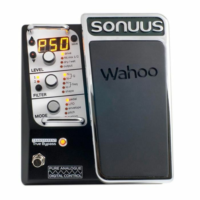 SONUUS - Sonuus Wahoo Wah & Filter Pedal For Guitar & Bass