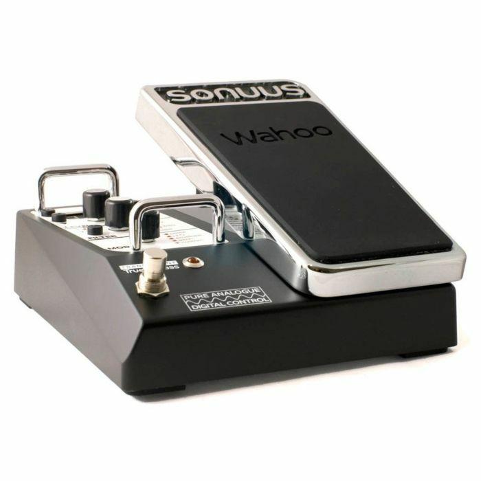 sonuus wahoo wah filter pedal for guitar bass 812837010042 ebay. Black Bedroom Furniture Sets. Home Design Ideas