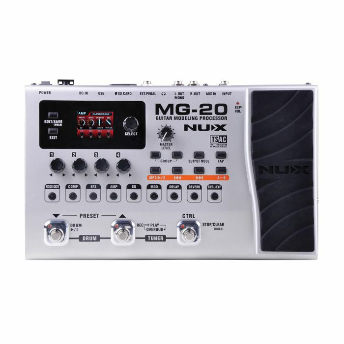 NUX - NUX MG20 Guitar Modelling Effects Processor Pedal