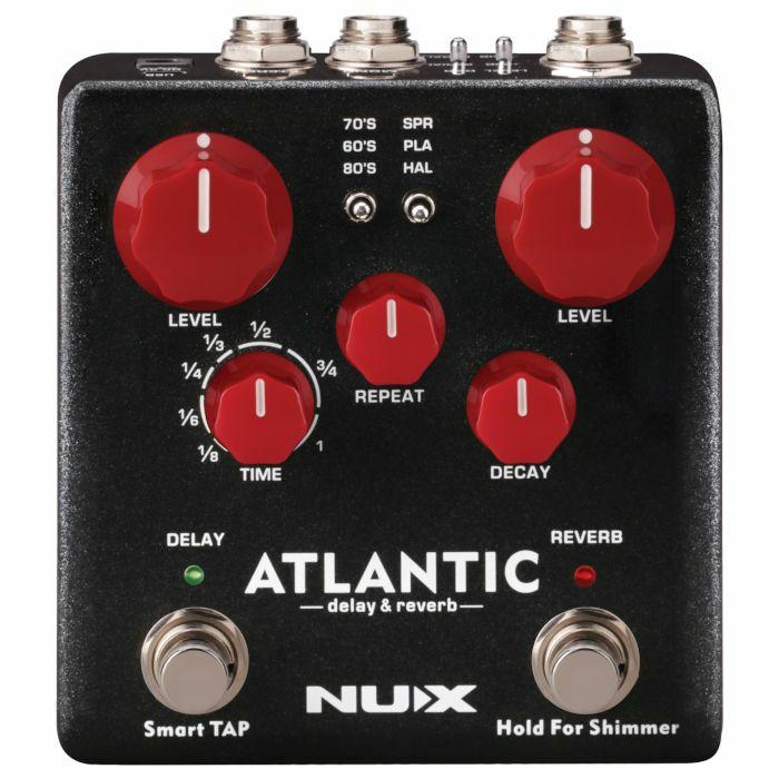 NUX - NUX NDR-5 Atlantic Delay & Reverb Pedal