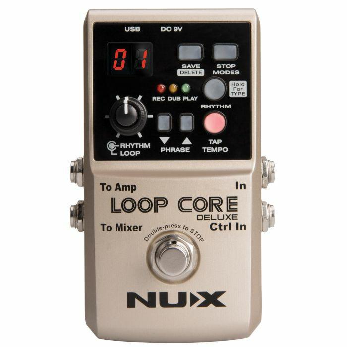 NUX - NUX Loop Core Deluxe 24 Bit Looper Pedal Bundle