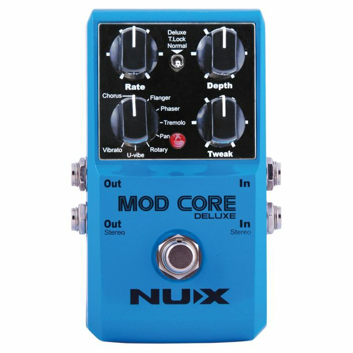 NUX - NUX Mod Core Deluxe Modulation Effects Pedal