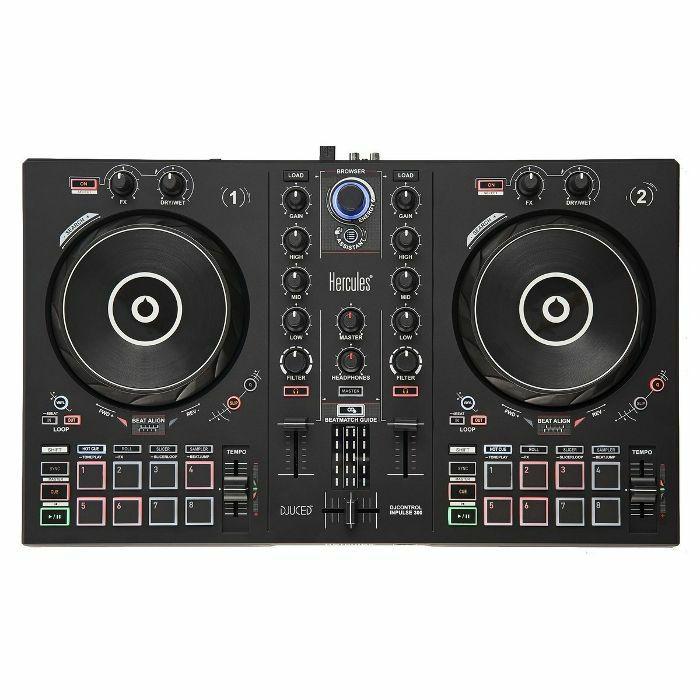 HERCULES - Hercules DJ Control Inpulse 300 DJ Controller With DJuced DJ Software