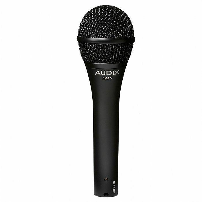AUDIX - Audix OM6 Dynamic Vocal Microphone (B-STOCK)