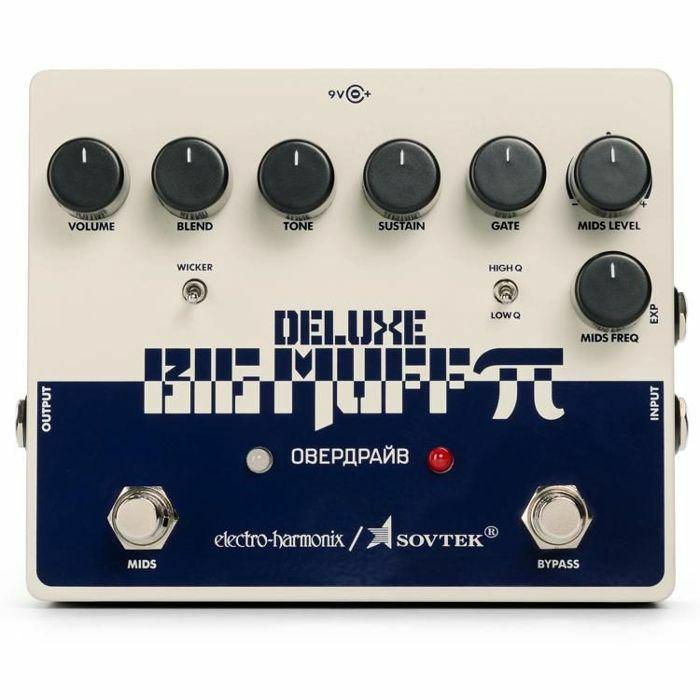 ELECTRO HARMONIX - Electro Harmonix Deluxe Sovtek Big Muff Pi Distortion & Sustainer Pedal