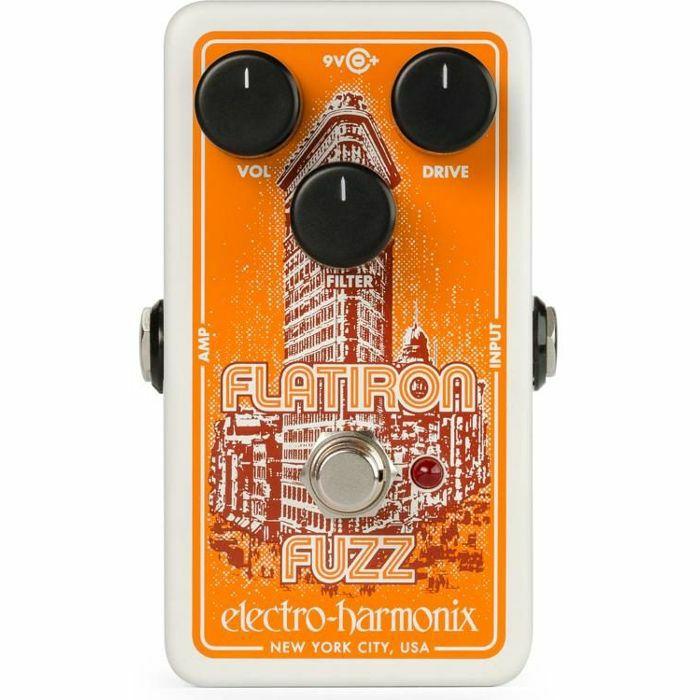 ELECTRO HARMONIX - Electro Harmonix Flatiron Fuzz & Distortion Pedal