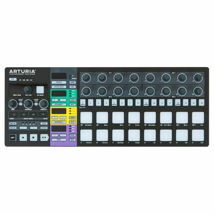 ARTURIA - Arturia BeatStep Pro Controller & Performance Sequencer (black edition) (B-STOCK)