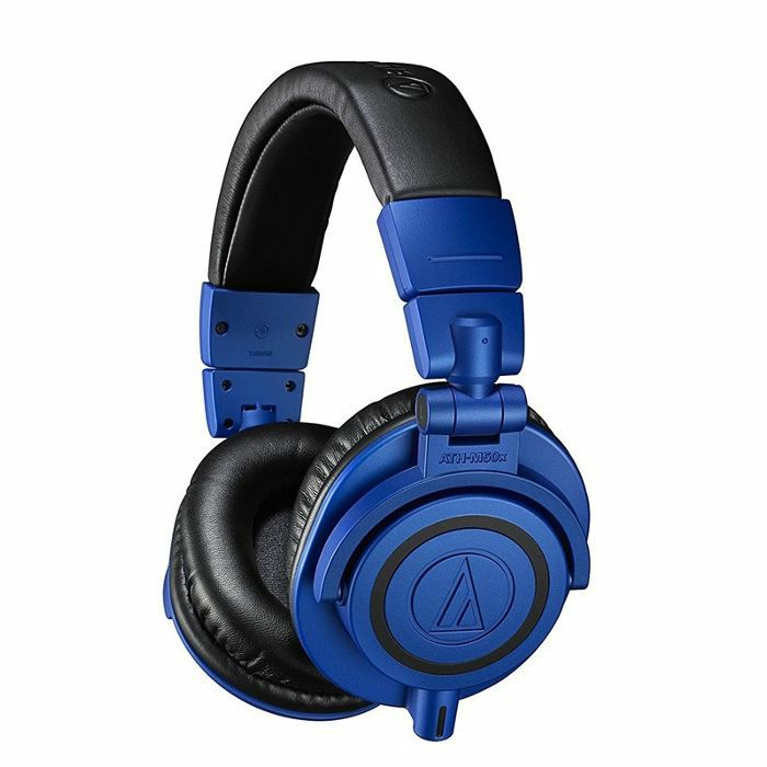 AUDIO TECHNICA - Audio Technica ATH M50X Professional Studio Monitor Headphones (blue & black)