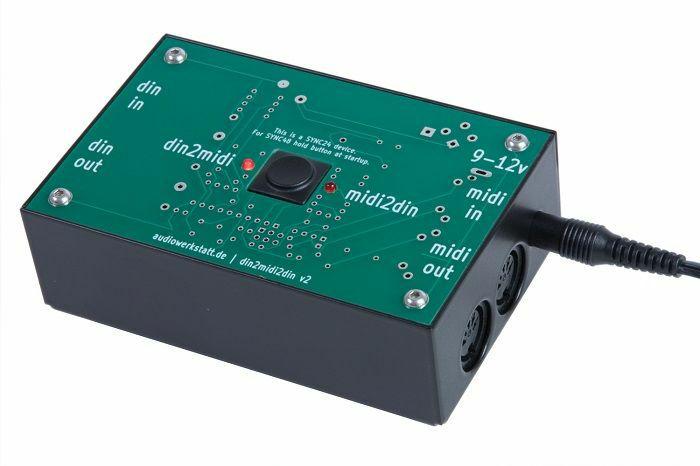 AUDIOWERKSTATT - Audiowerkstatt DIN 2 MIDI 2 DIN Converter v2