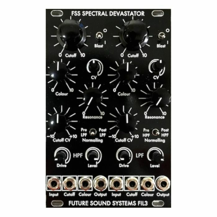 FUTURE SOUND SYSTEMS - Future Sound Systems FIL3 Spectral Devastator High Pass & Low Pass Filter Module