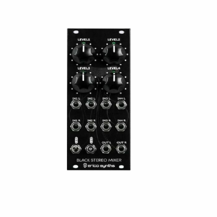 ERICA SYNTHS - Erica Synths Black Stereo Mixer V3 Module