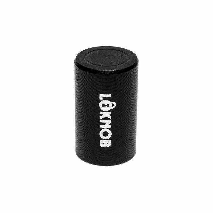 LOKNOB - Loknob 13127B Fuggedaboudit Tour Cap 1/2 Inch For Boss Type Pedals With M7 Threaded Pots (black)
