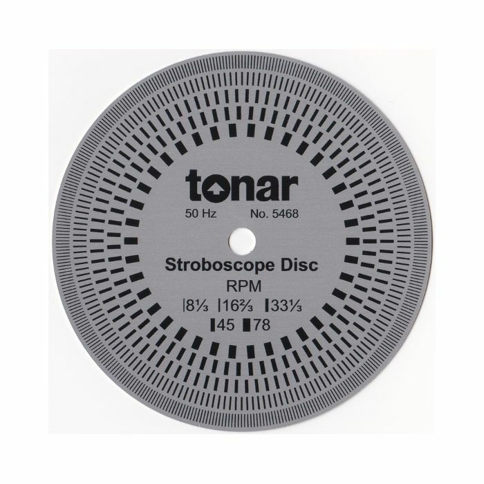 TONAR - Tonar 10cm Aluminium Stroboscopic Disc (50 & 60Hz compatible)