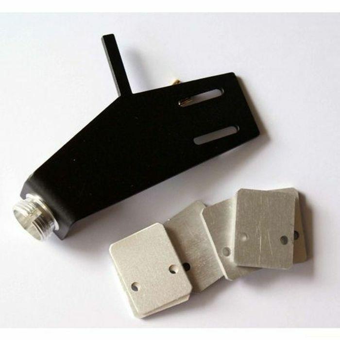 LENCO - Lenco Headshell For B52, B55, L72, L75 & L78 Turntable Models (black)