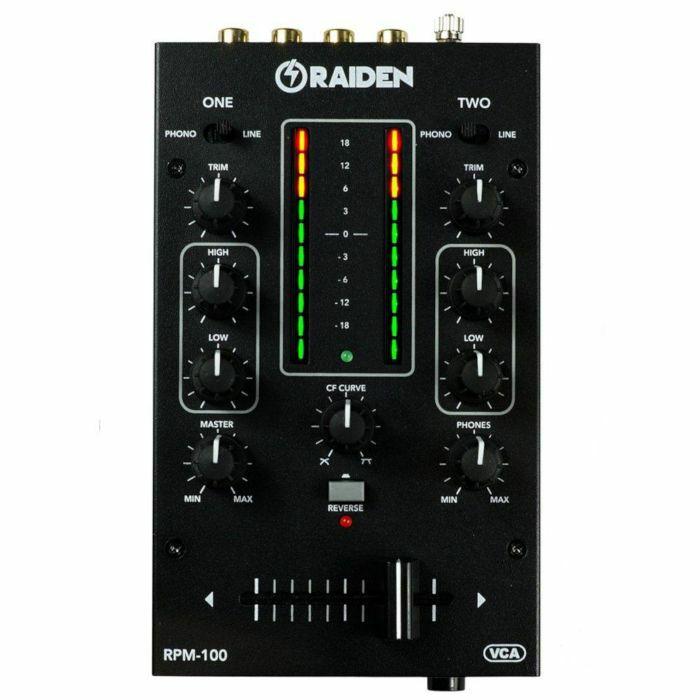RAIDEN FADER - Raiden Fader RPM100 Portable DJ Mixer