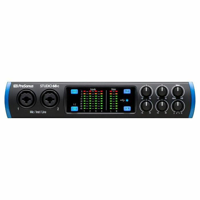 PRESONUS - Presonus Studio 68c 6x6 USB-C Audio Interface