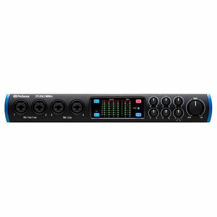 PRESONUS - Presonus Studio 1810c 18x8 USB-C Audio & MIDI Interface