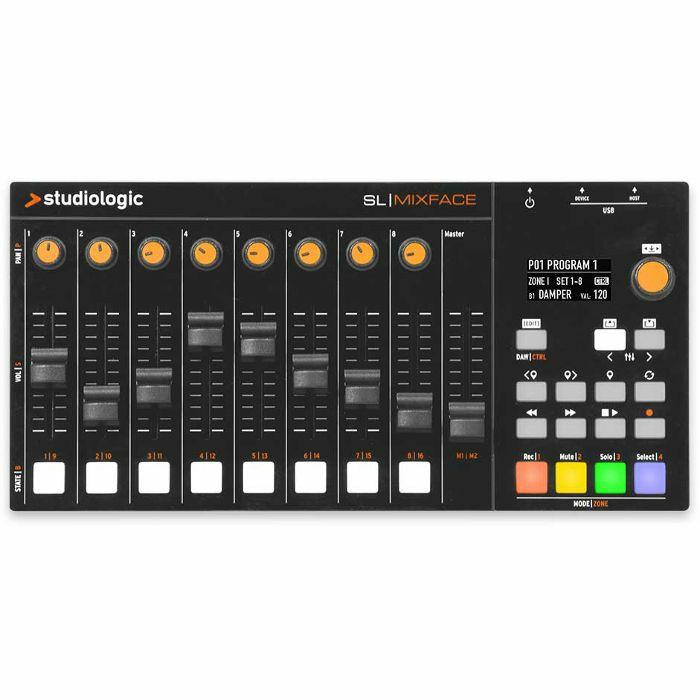 STUDIOLOGIC - Studiologic SL Mixface 8 Channel MIDI Controller Mixer