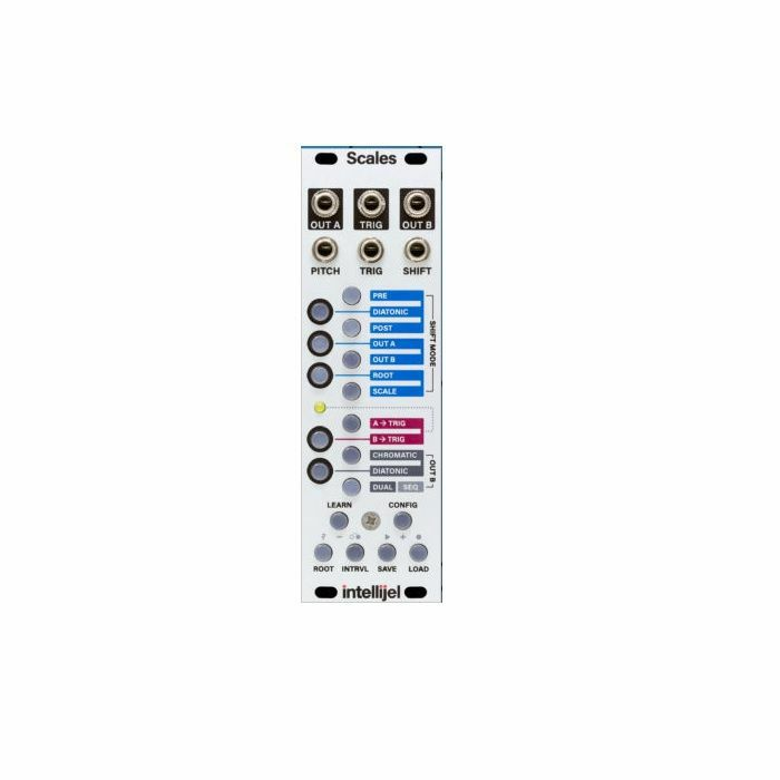 INTELLIJEL - Intellijel Scales Dual Channel Note Quantizer & Sequencer Module