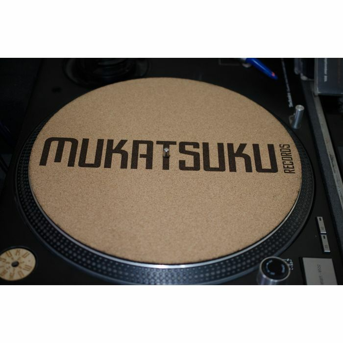 MUKATSUKU - Mukatsuku Font Name 12'' Cork Slipmat (single) *Juno Exclusive*