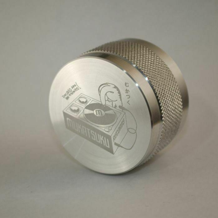 MUKATSUKU - Mukatsuku Logo Outline Design Disk Stabilizer/Record Weight (510 gram version) *Juno Exclusive*