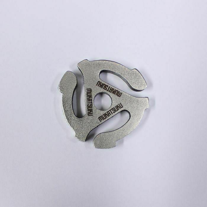 MUKATSUKU - Mukatsuku Chunky Pattern/Engraved Spider 45 RPM 7