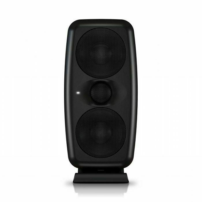 IK MULTIMEDIA - IK Multimedia iLoud MTM Powered Studio Reference Monitor With Measurement Microphone (single, black)