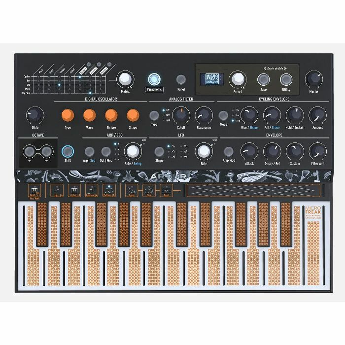 ARTURIA - Arturia MicroFreak Paraphonic Hybrid Synthesiser & Sequencer
