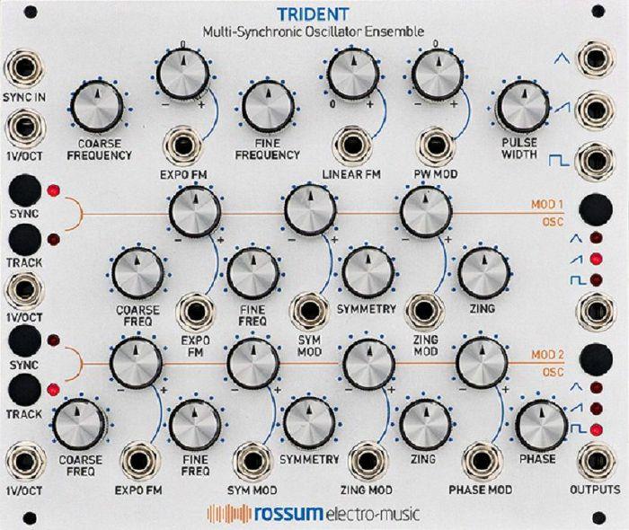 ROSSUM ELECTRO-MUSIC - Rossum Electro-Music Trident Multi Synchronic Oscillator Ensemble Module