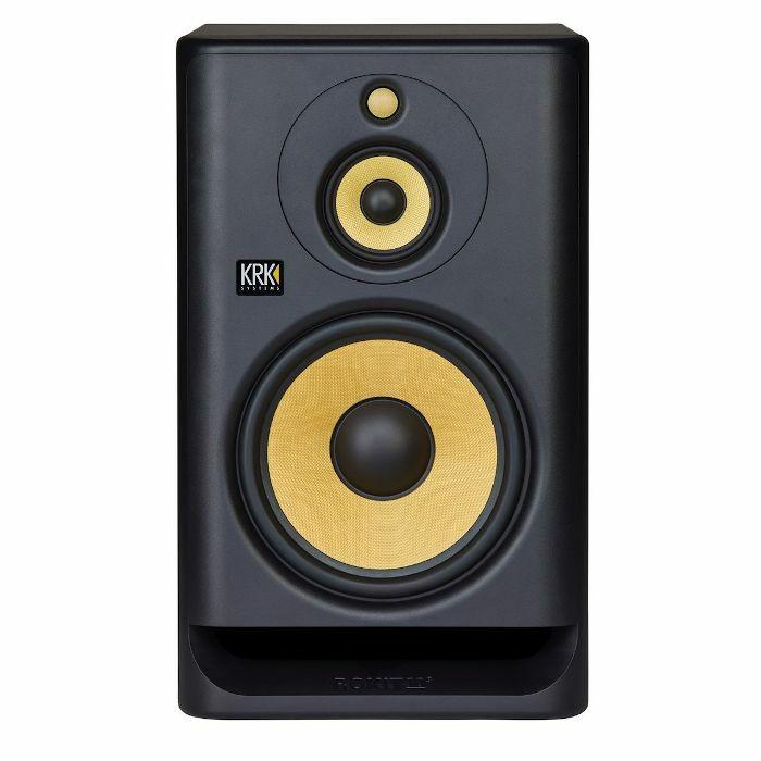 KRK - KRK Rokit RP103 G4 Active Studio Monitor Speaker (single, black with yellow cone)