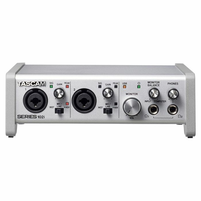 TASCAM - Tascam Series 102i USB Audio & MIDI Interface