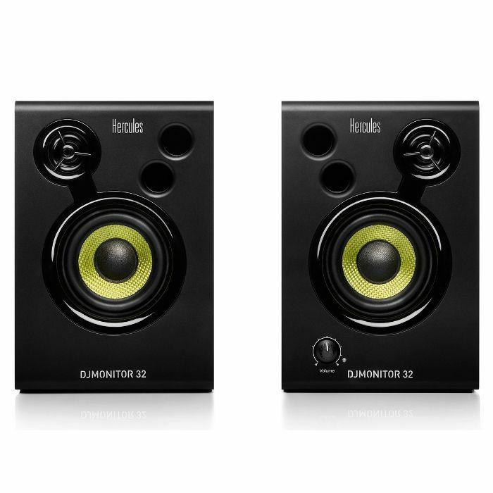 HERCULES - Hercules DJ Monitor 32 Active Monitoring Speakers (pair)
