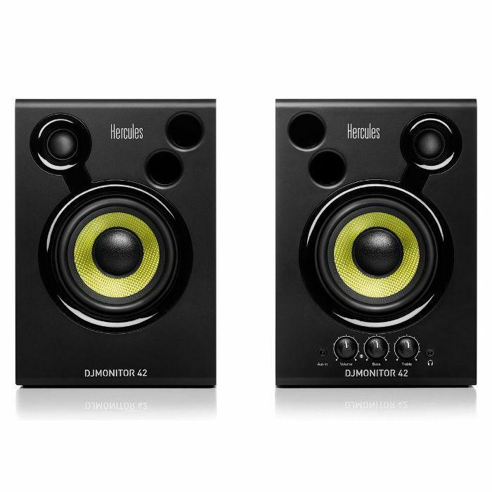 HERCULES - Hercules DJ Monitor 42 Active Monitoring Speakers (pair)
