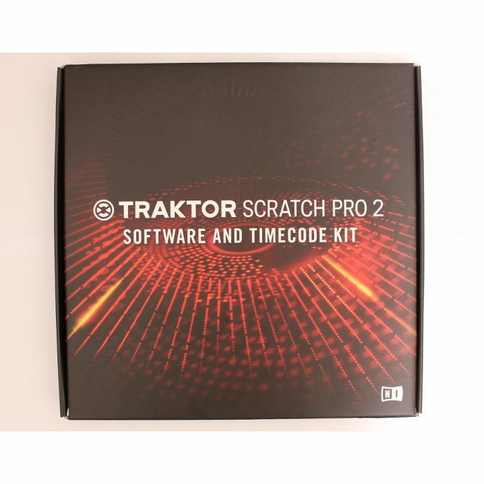NATIVE INSTRUMENTS - Native Instruments Traktor Scratch Pro 2 Software & Timecode Kit