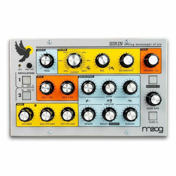 MOOG - Moog Sirin Analogue Desktop Synthesiser Module (limited edition)
