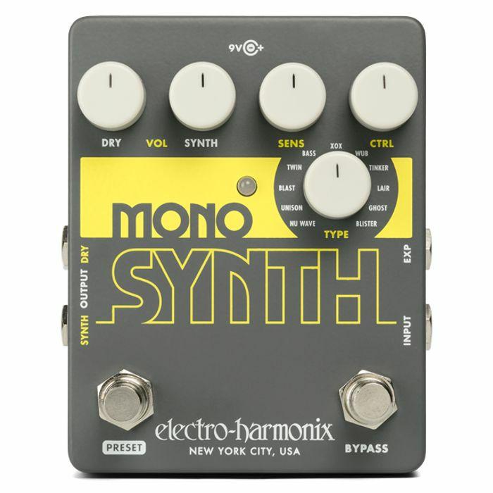 ELECTRO HARMONIX - Electro Harmonix Mono Synth Effects Pedal