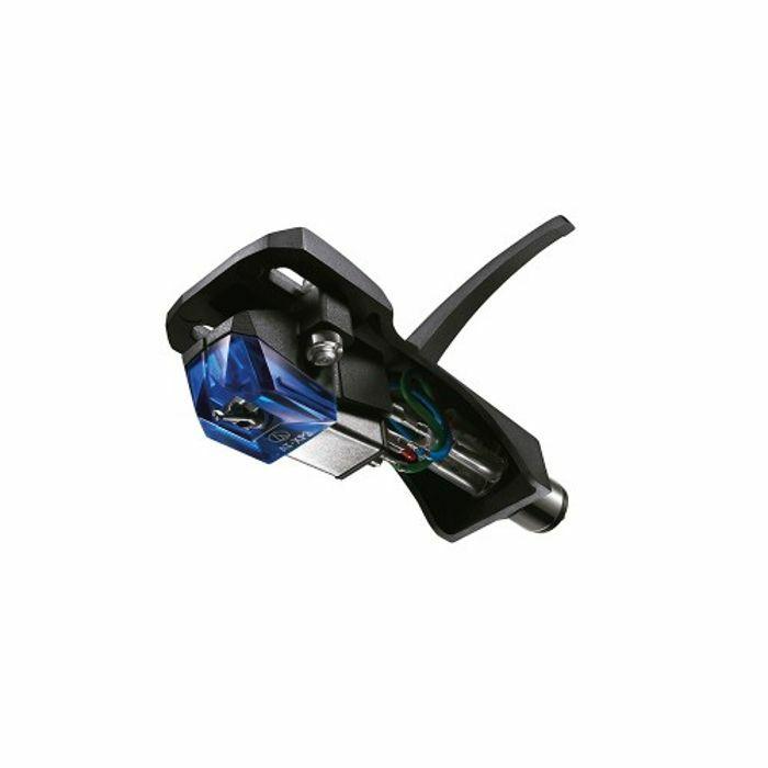 AUDIO TECHNICA - Audio Technica AT XP3 Cartridge & Stylus Premounted On ATHS6BK Headshell