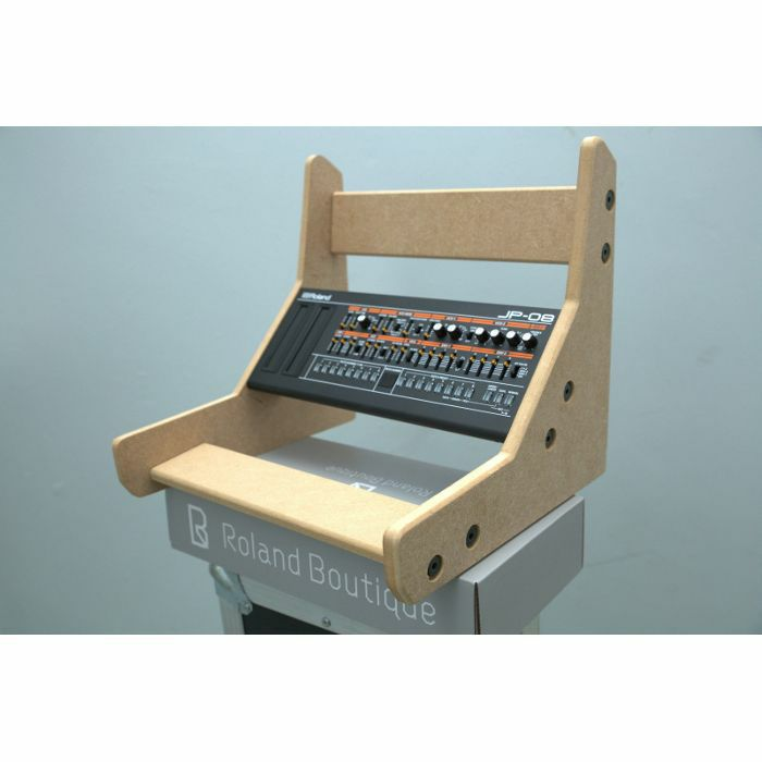 Synths /& Wood Plain MDF End Cheeks Triple Stand For Roland Boutique Series Sy...
