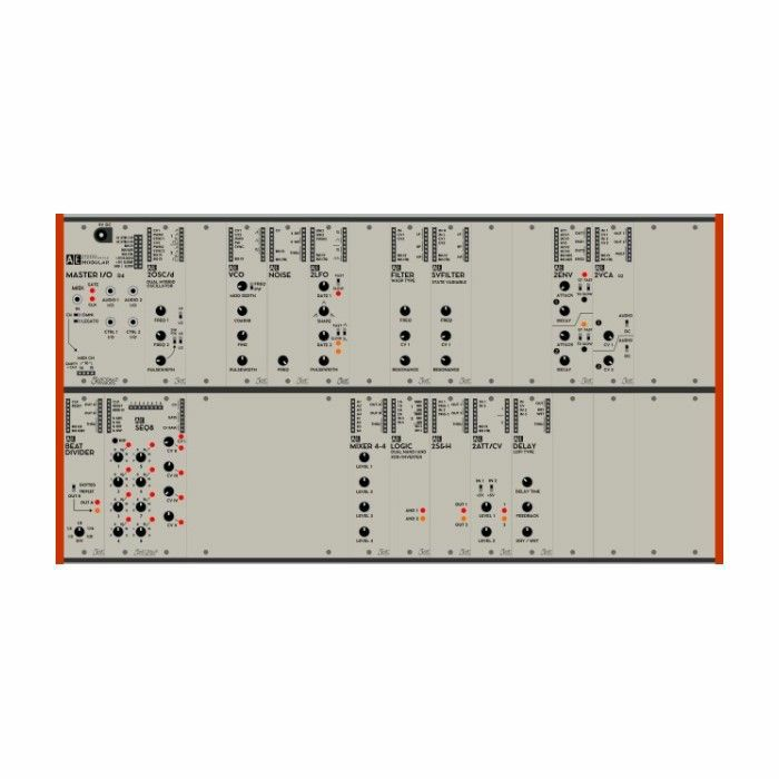TANGIBLE WAVES - Tangible Waves AE Modular Starter Rack 2 Complete Modular Synthesiser System